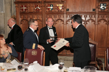 Nigel Everett receives prestigious award