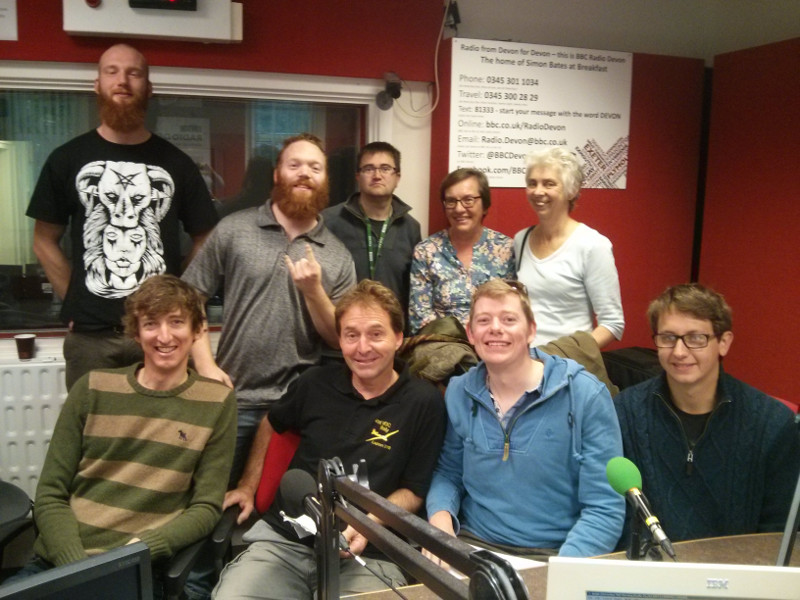BBC Radio Devon Michael Chequer and guests 19 September 2015
